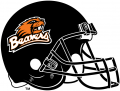 Oregon State Beavers 1997-2012 Helmet iron on sticker