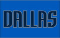 Dallas Mavericks 2010 11-Pres Jersey Logo iron on sticker
