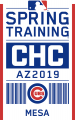 Chicago Cubs 2019 Event Logo iron on sticker