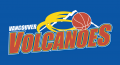 Vancouver Volcanoes 2005-2009 Alternate Logo iron on sticker
