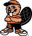 Oregon State Beavers 2007-Pres Mascot Logo iron on sticker