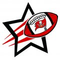 Tampa Bay Buccaneers Football Goal Star logo iron on sticker