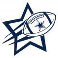 Dallas Cowboys Football Goal Star logo iron on sticker