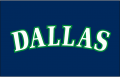 Dallas Mavericks 1993 94-2000 01 Jersey Logo iron on sticker
