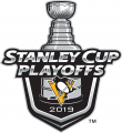Pittsburgh Penguins 2018 19 Event Logo decal sticker