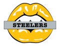 Pittsburgh Steelers Lips Logo decal sticker
