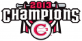 Vancouver Canadians 2013 Champion Logo decal sticker