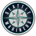 Seattle Mariners Plastic Effect Logo iron on sticker