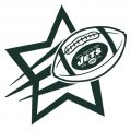 New York Jets Football Goal Star logo iron on sticker