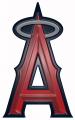 Los Angeles Angels Plastic Effect Logo iron on sticker