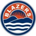 Kamloops Blazers 2015 16-Pres Secondary Logo decal sticker