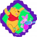 Disney Piglet Logo 13 decal sticker