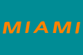 Miami Dolphins 2013-Pres Wordmark Logo 01 decal sticker