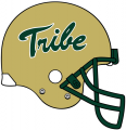 William and Mary Tribe 2009-2015 Helmet Logo decal sticker