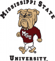 Mississippi State Bulldogs 1986-2008 Mascot Logo decal sticker