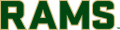 Colorado State Rams 2015-Pres Wordmark Logo 11 iron on sticker
