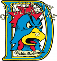 Delaware Blue Hens 1987-1998 Primary Logo iron on sticker