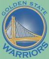 Golden State Warriors Plastic Effect Logo decal sticker