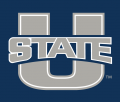 Utah State Aggies 2012-Pres Alternate Logo 02 iron on sticker