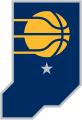 Indiana Pacers 2017-2018 Pres Alternate Logo iron on sticker