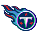 Phantom Tennessee Titans logo iron on sticker