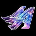 Galaxy Los Angeles Angels Of Anaheim Logo decal sticker