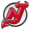New Jersey Devils Crystal Logo iron on sticker