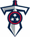 Tennessee Titans 1999-Pres Alternate Logo decal sticker