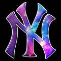 Galaxy New York Yankees Logo decal sticker