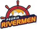 Peoria Rivermen 2013 14-2014 15 Primary Logo iron on sticker