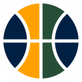 Utah Jazz 2016-Pres Alternate Logo 2 decal sticker