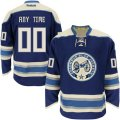 Columbus Blue Jackets Custom Letter and Number Kits for Blue Jersey