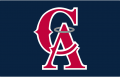 Los Angeles Angels 1993-1996 Cap Logo decal sticker