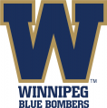 Winnipeg Blue Bombers 2012-Pres Secondary Logo decal sticker