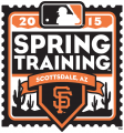 San Francisco Giants 2015 Event Logo 01 decal sticker