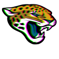 Phantom Jacksonville Jaguars logo iron on sticker