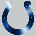Indianapolis Colts Stainless steel logo iron on sticker