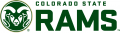 Colorado State Rams 2015-Pres Secondary Logo 03 iron on sticker