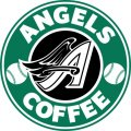 Los Angeles Angels Of Anaheim Starbucks Coffee Logo iron on sticker