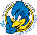 Delaware Blue Hens 1999-2008 Primary Logo iron on sticker