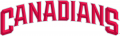 Vancouver Canadians 2014-Pres Wordmark Logo decal sticker