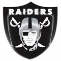 Oakland Raiders Crystal Logo decal sticker