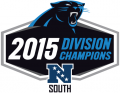 Carolina Panthers 2015 Champion Logo decal sticker