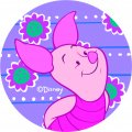 Disney Piglet Logo 10 decal sticker