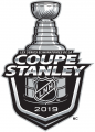 Stanley Cup Playoffs 2018-2019 Alt. Language Logo decal sticker