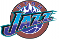 Utah Jazz 1996-2004 Primary Logo decal sticker