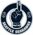 Number One Hand Seattle Seahawks logo decal sticker