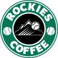 Colorado Rockies Starbucks Coffee Logo iron on sticker