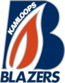 Kamloops Blazers 2005 06-2014 15 Primary Logo decal sticker