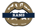 Los Angeles Rams Lips Logo decal sticker